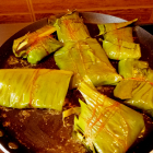 Fish Paturi recipe( Fish steamed in Banana leaf with mustard sauce)