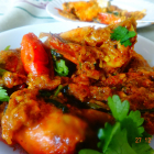 Spicy Prawns curry