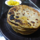Fish paratha(Fish meat stuffed flat bread)
