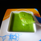 Cream of peas soup