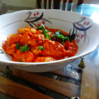gnocchi in red sauce