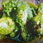 Green herb chicken
