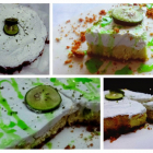 Lime and lemony cottage cheesecake