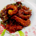 Prawn tempura recipe in chilly garlic sauce