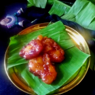 Taler Malpua recipe with suji and maida