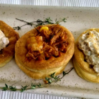 Vol au vent pastry shell recipe from scratch