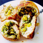 Chicken roulade Indian style