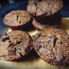 Chocolate and digestive biscuits muffins