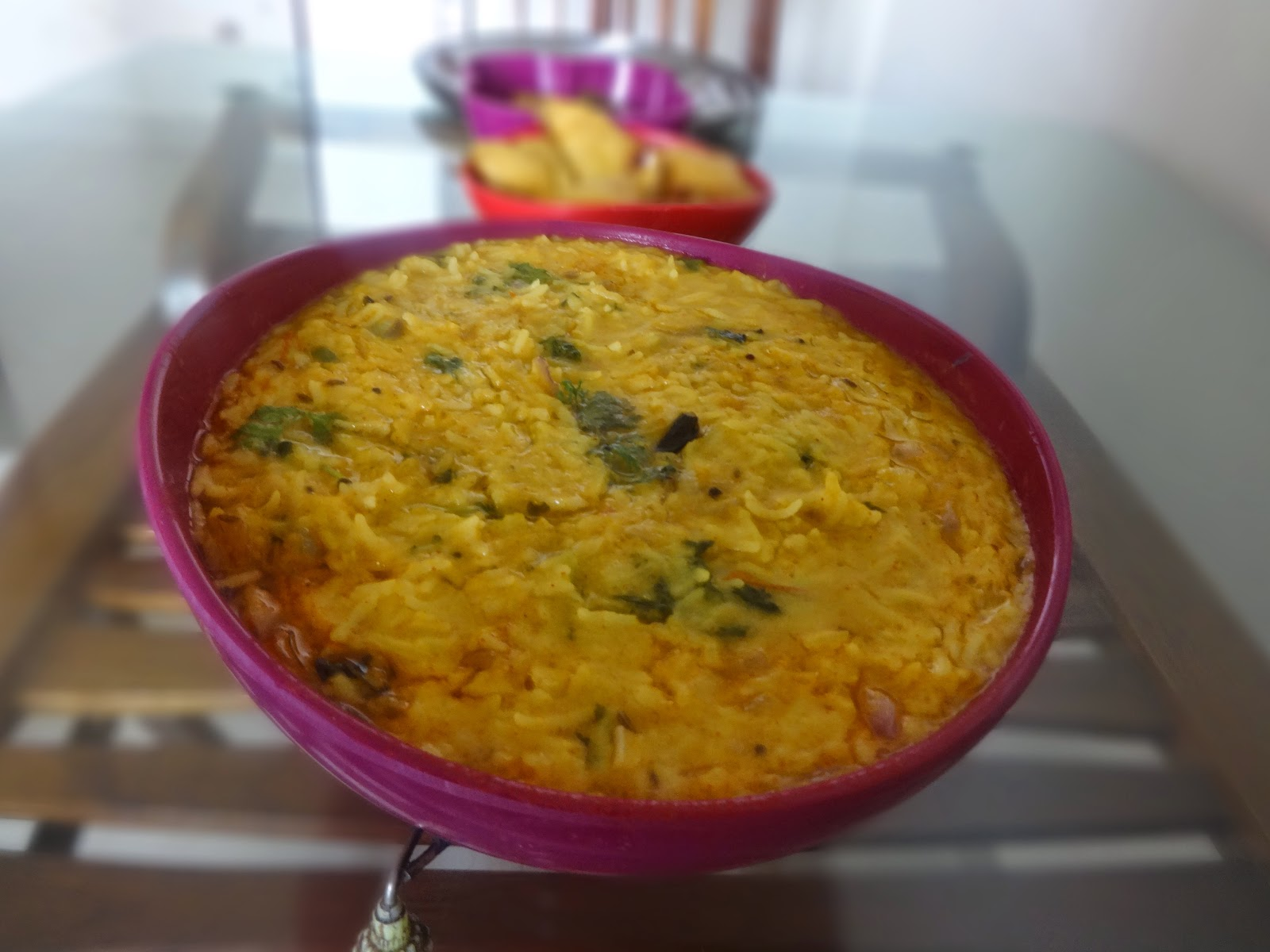 Dal khichdi of this recipe at once when i had this in college canteens favourite among the studentswe make khichdi at home which is made by cooking rice in dal ccuart Choice Image