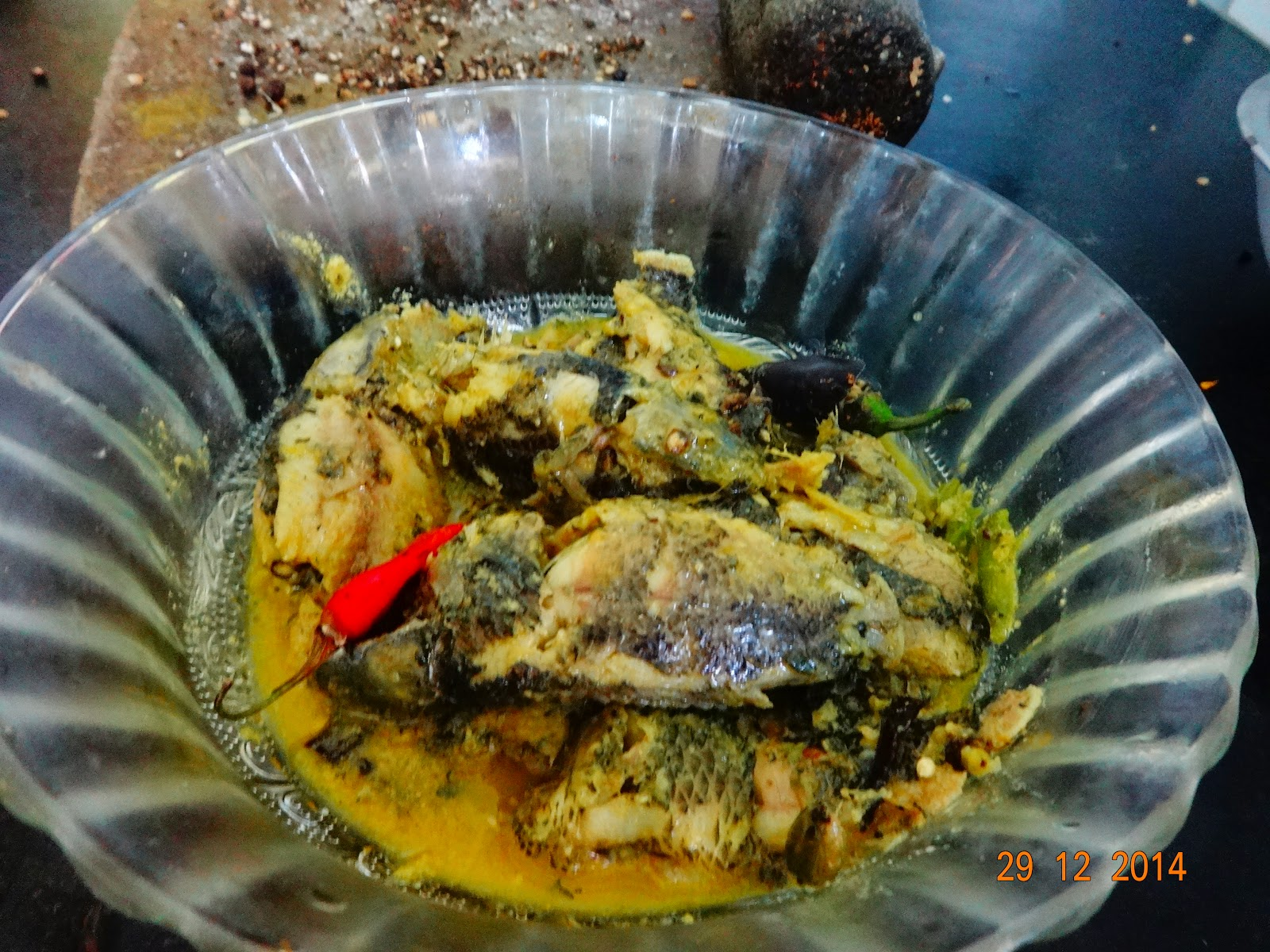 How to cook koi fish  in milk(koi macher jhol bengali recipe)