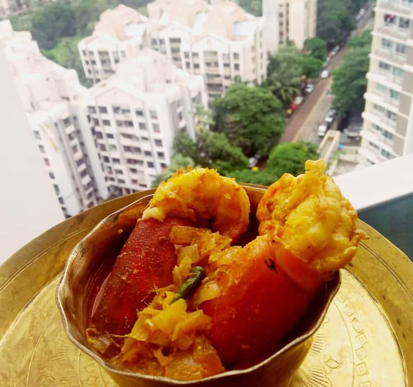 Chingri malai curry recipe(Prawn in coconut based sauce)
