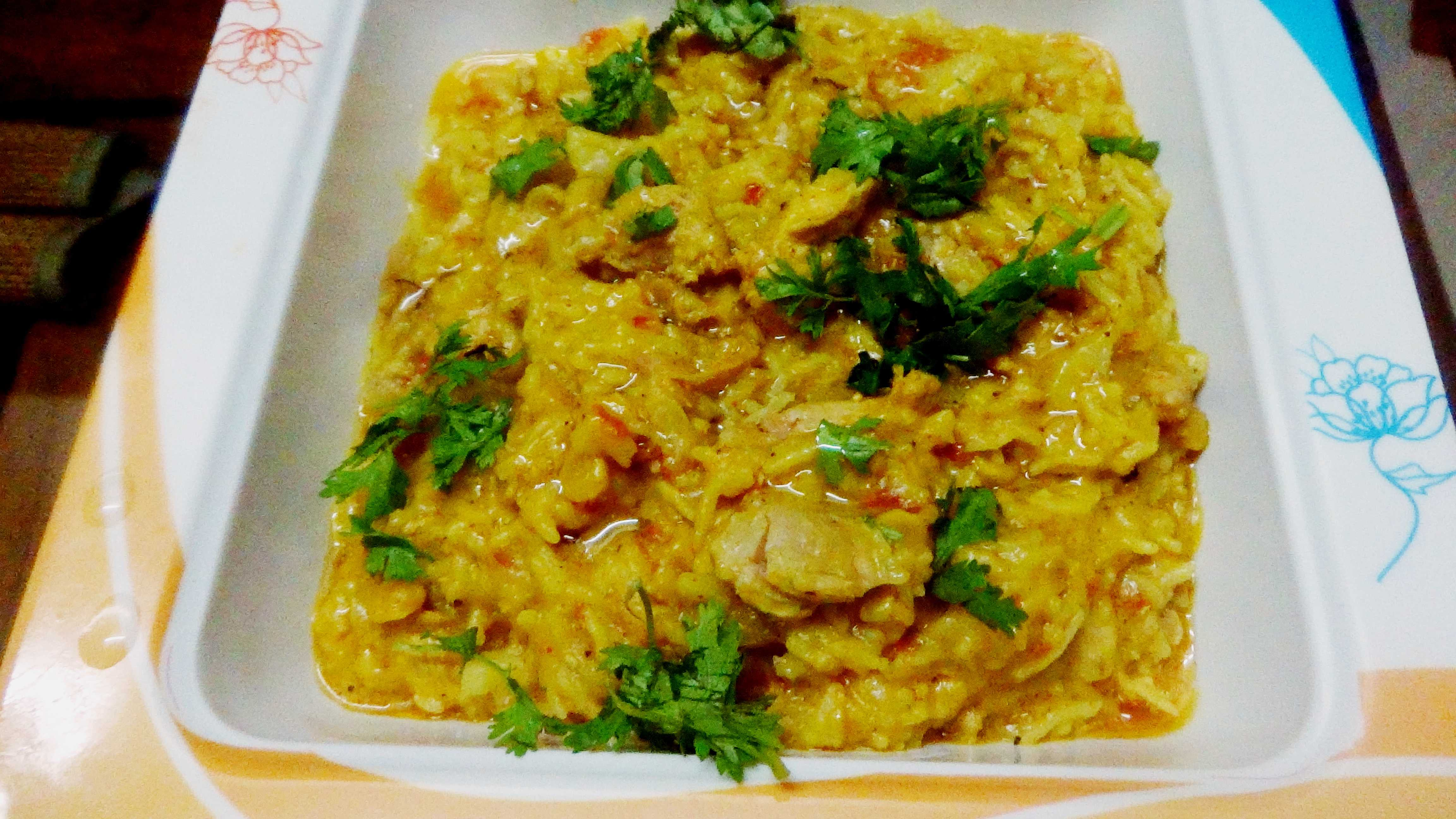 Murgir Khichuri(Rice ,lentils and chicken cassarole)