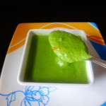 Palak paneer(cottage cheese cooked in a spinach curry)
