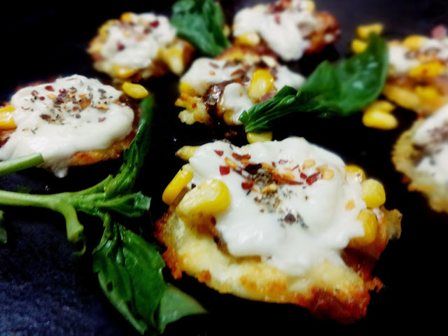 Cheese canapes