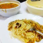 Noodles spring rolls