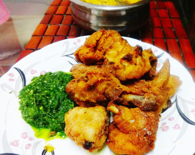 Crispy Coconut Chicken fry