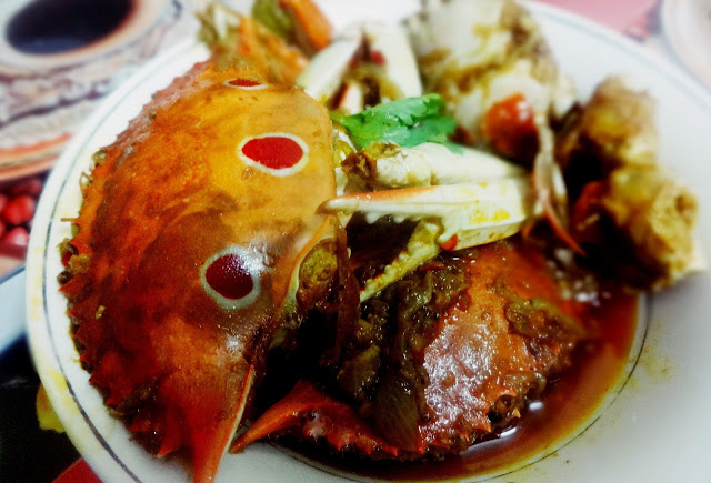 Kakrar Jhal(Bengal style crab curry)