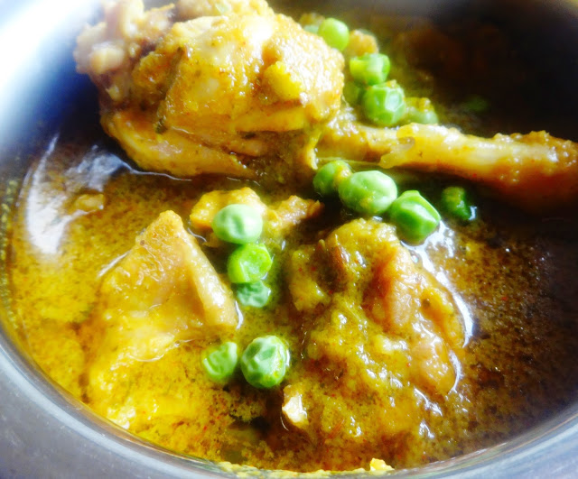 Peas Chicken