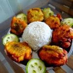 Minced Chicken egg kebab