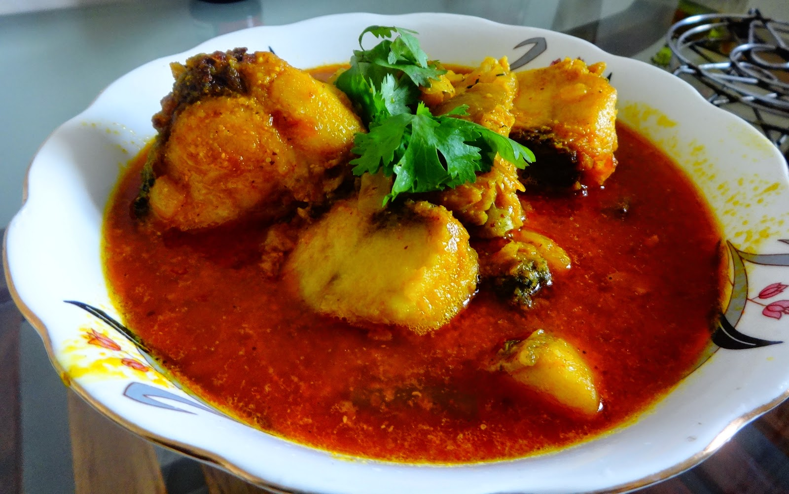 Machher  kalia (Fish curry Bengali style)