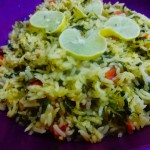 Spinach Rice Indian Recipe