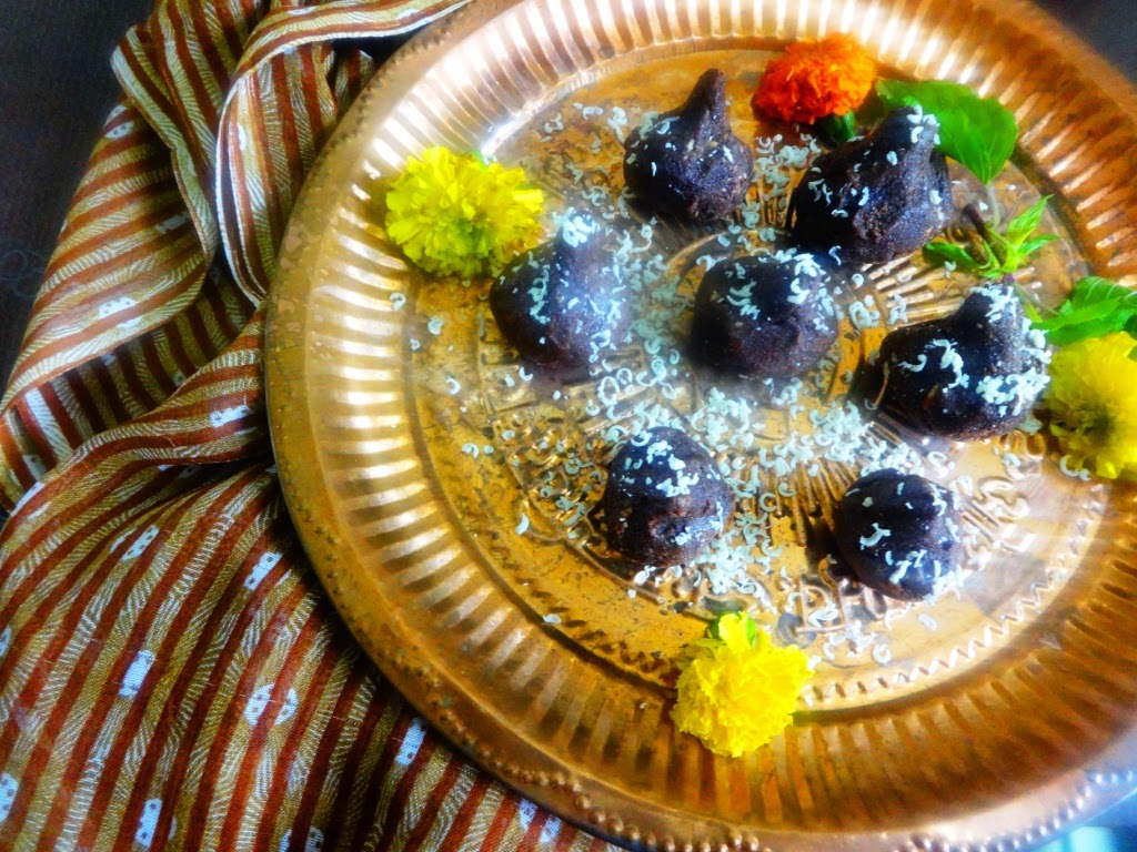 MODAK SHAPED CHOCOLATE TRUFFLES