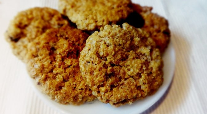 egg less Oats cookies recipe