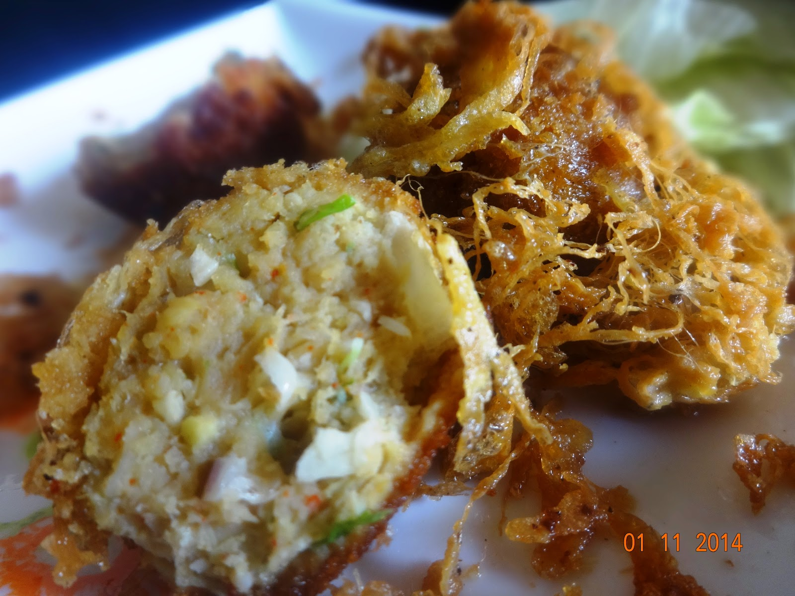Chicken kobiraji Balls(chicken coverage cutlet)