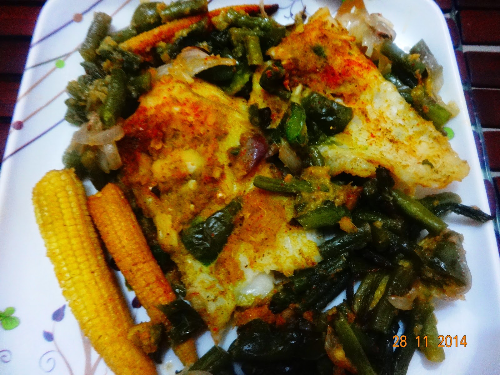 Baked Pineapple Fish