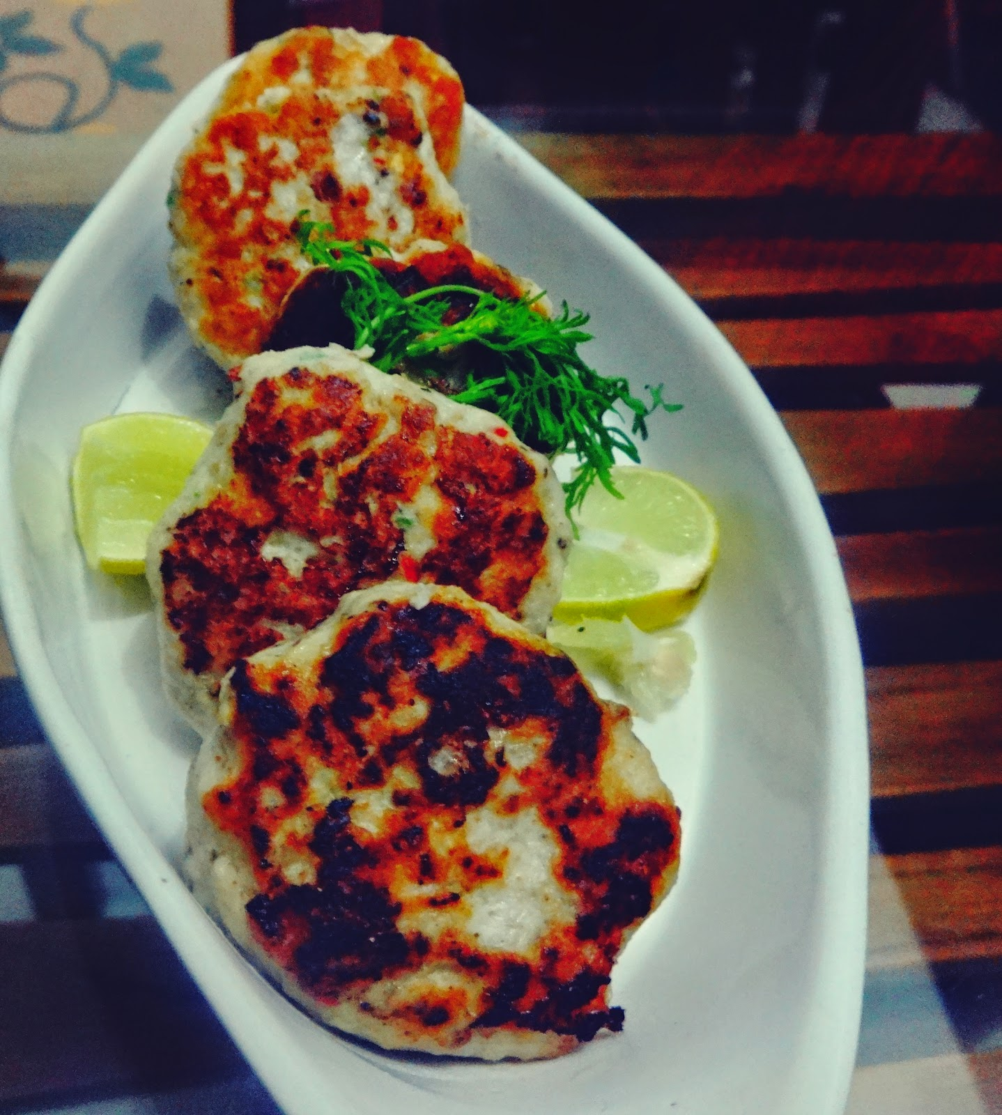 Chicken and Rice kababs