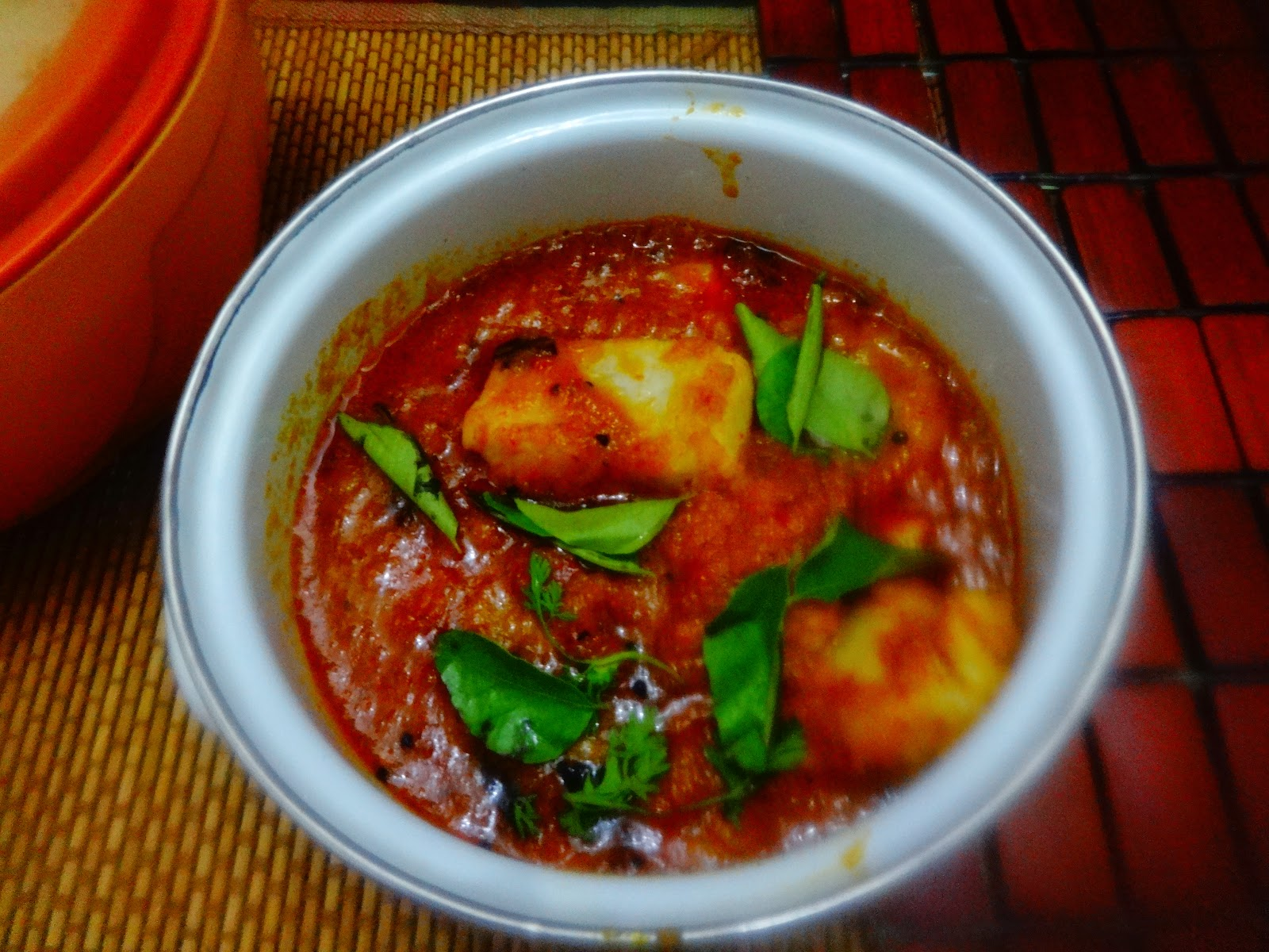 Raw Mango Fish curry (North African style)