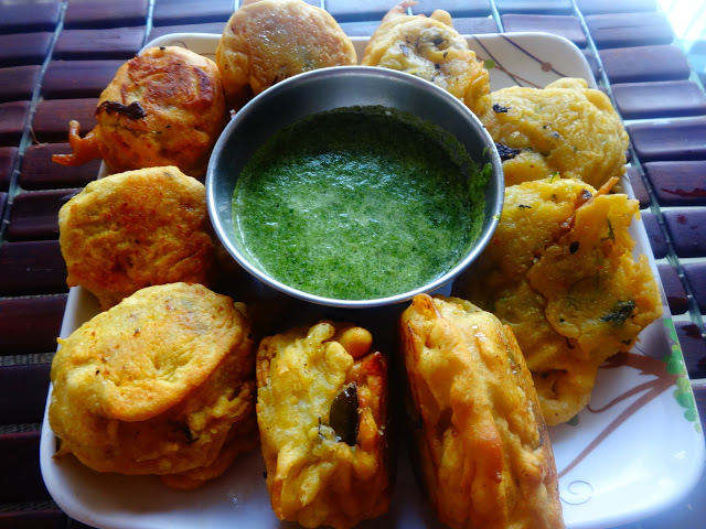 Batata vada-Indian potato burger pattice
