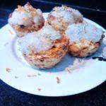 coconut carrot vegan muffins