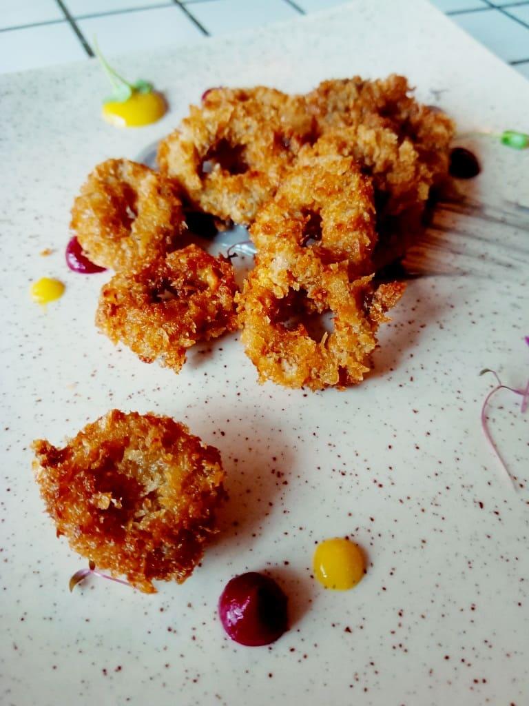 Calamar fry-Brunch at NRI