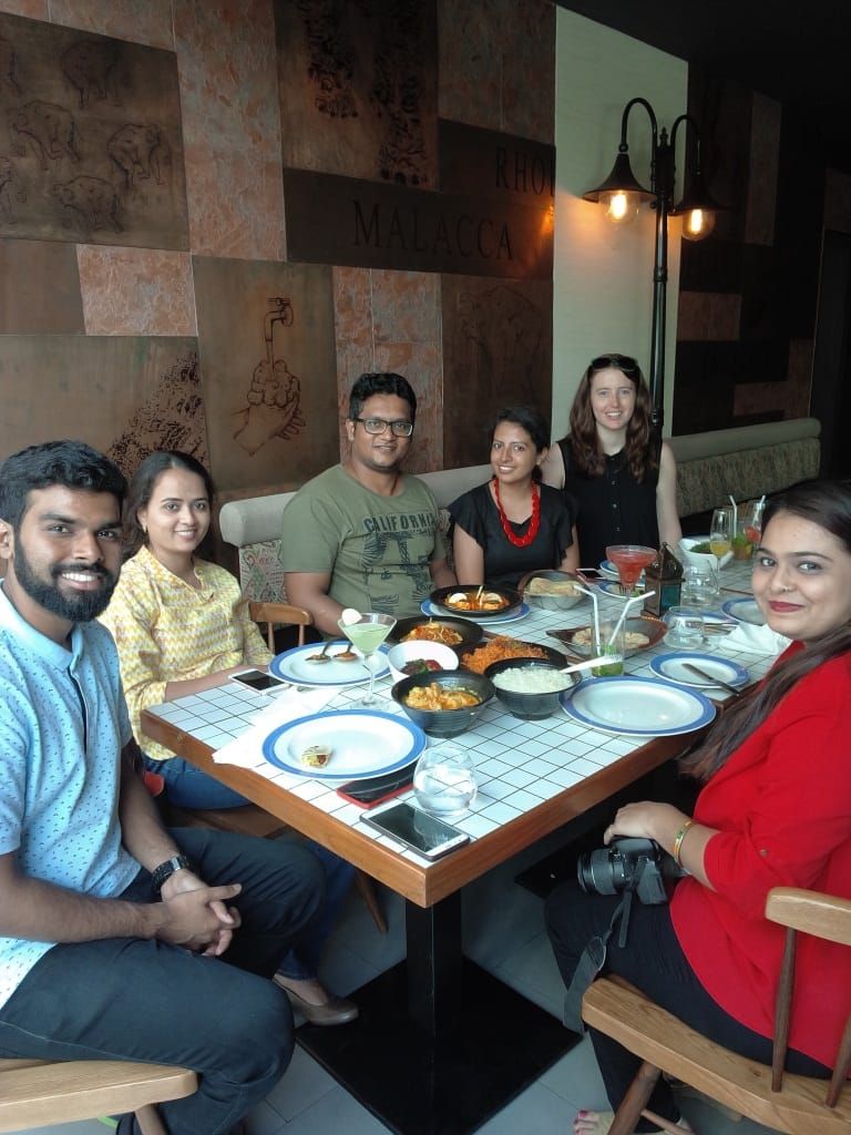 Blogger's Table Brunch at NRI