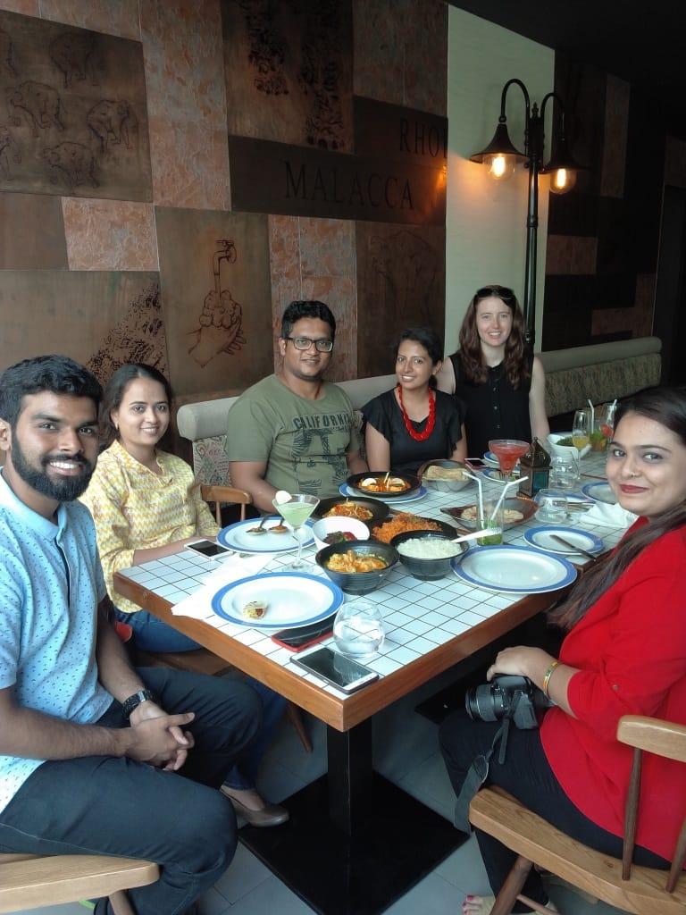 Blogger's Table Brunch at NRI