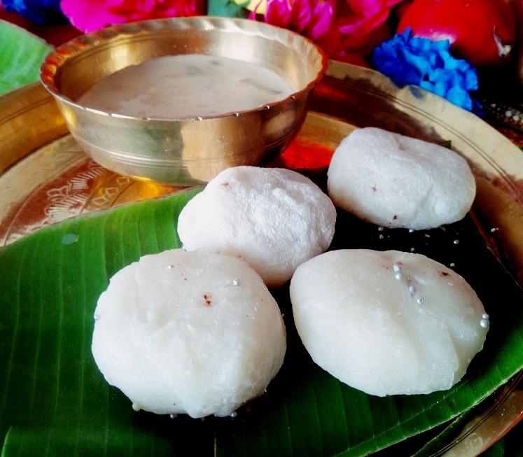 Coconut mochi balls