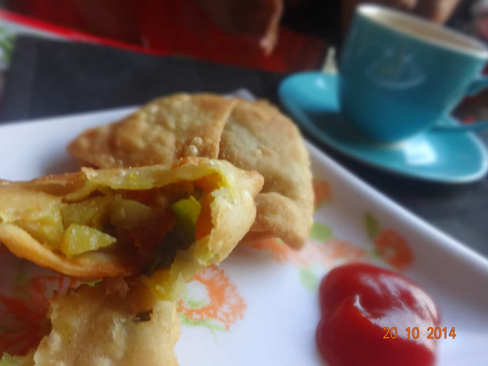 cauliflower samosa