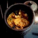 Shorshe posto Bhetki-A flaky boneless fish cooked in mustard and poppy seeds sauce
