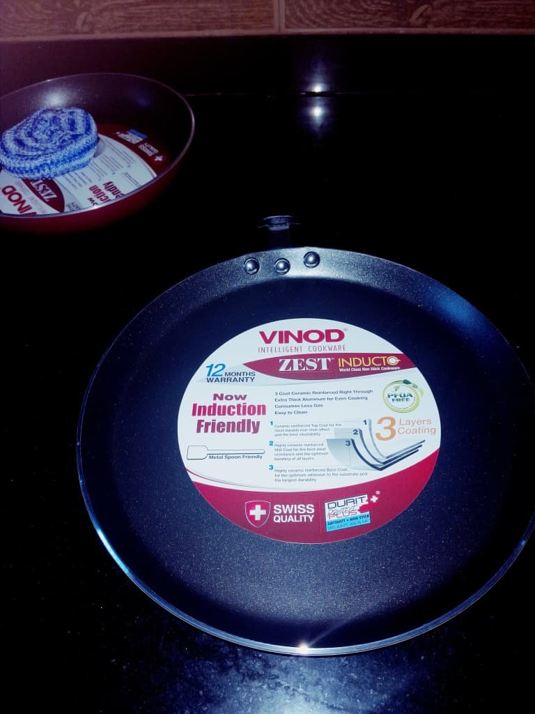 Vinod cookware launch party