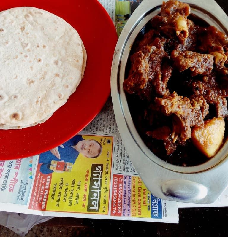 Bengali kosha mangsho