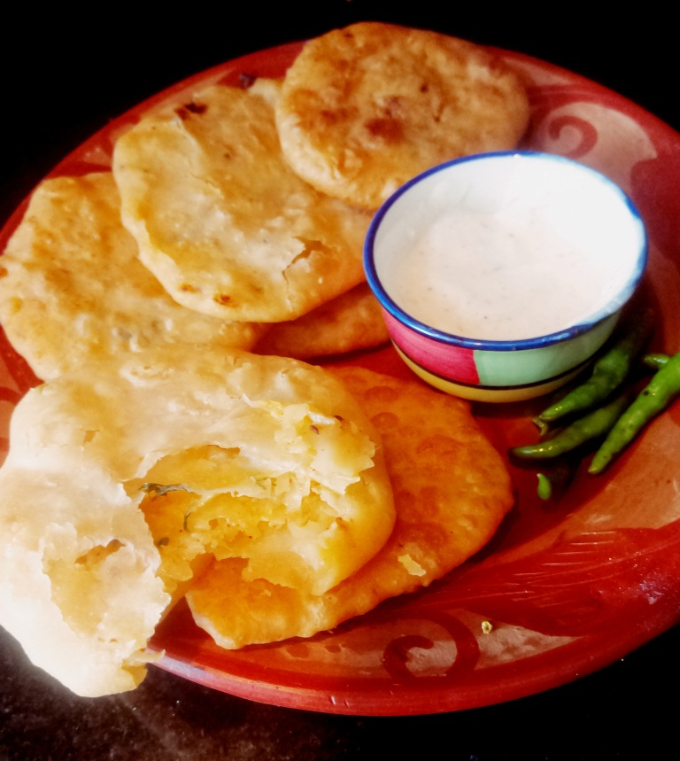 How to make Mooli kachori|deep fried stuffed flatbreads with radish
