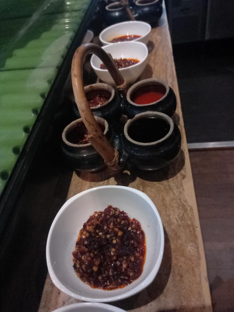 Sauce platter