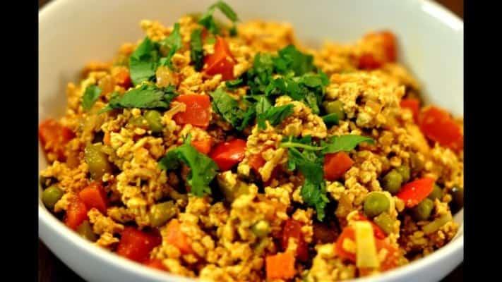 Egg bhurjee