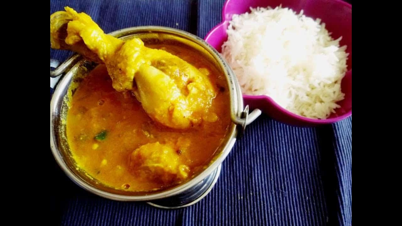 Dal chicken curry recipe|dal murgh