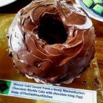 Marmorkuchen--chocolate marble cake by Shivani Vakil Savant