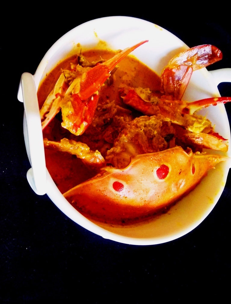 Sri Lankan Jaffna crab curry