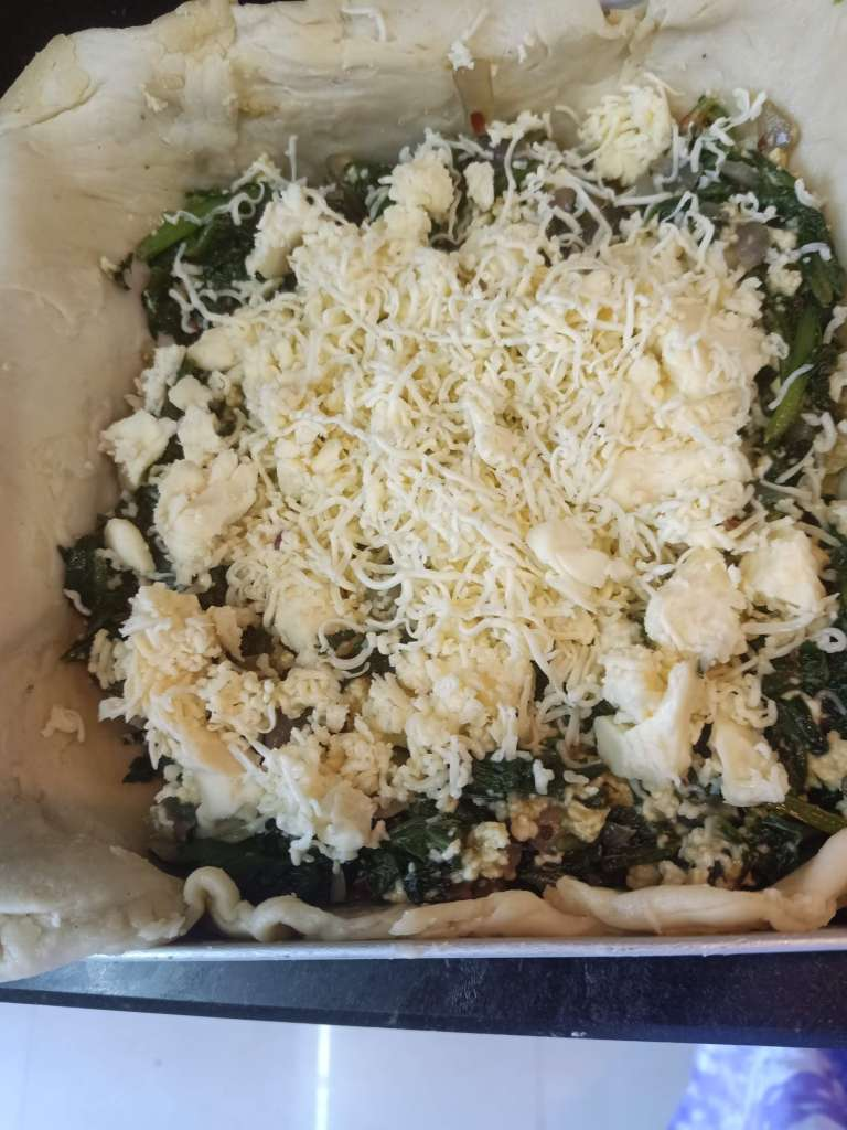 Spinach borek
