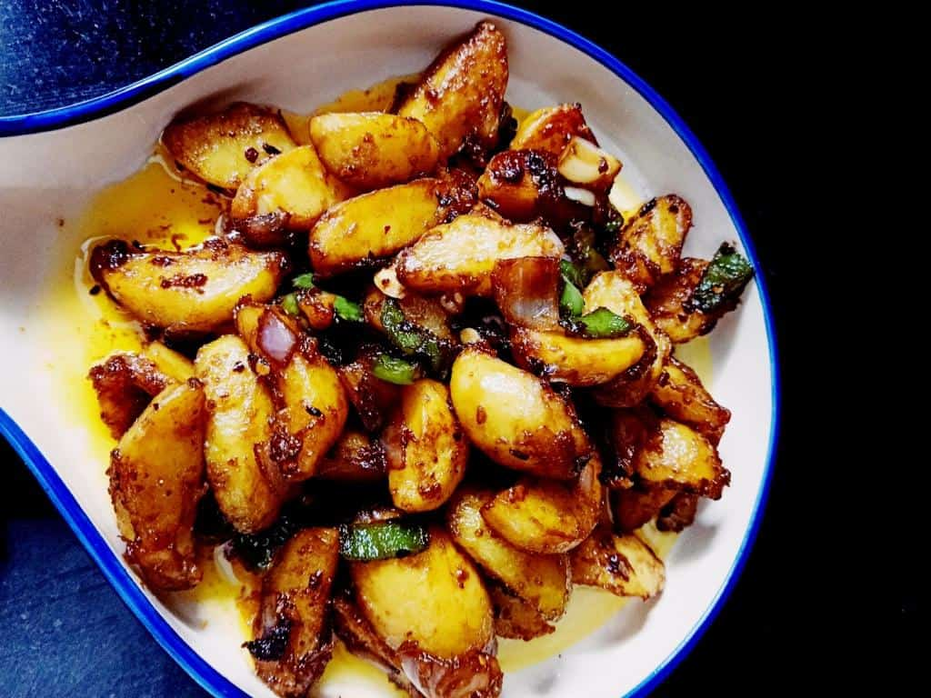 How to make a chili potato