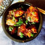 Honey glazed chili chicken